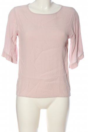 Object Langarm-Bluse pink Casual-Look