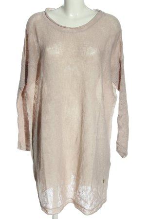 Object Robe à manches longues blanc cassé élégant