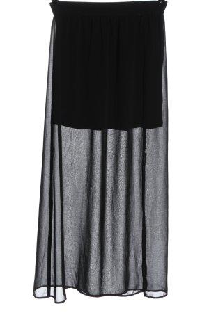 Object Spódnica maxi czarny W stylu casual