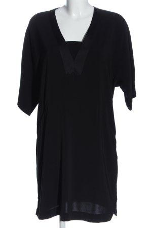 Object Robe courte noir style décontracté