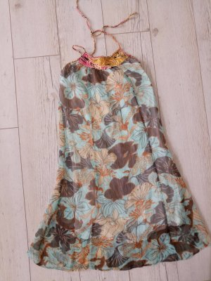 Object Halter Dress light blue