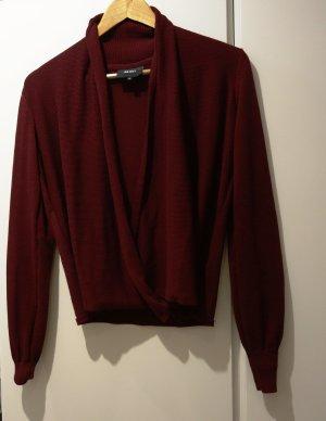 Object Kimono Sweater bordeaux-carmine
