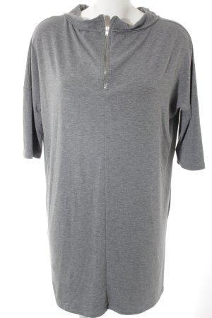 Object Pulloverkleid grau Casual-Look