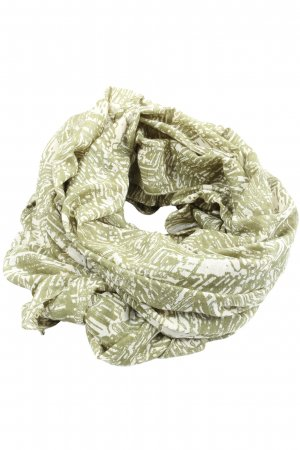 Object Snood khaki-natural white allover print casual look