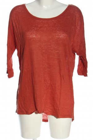 Object Schlupf-Bluse rot Casual-Look