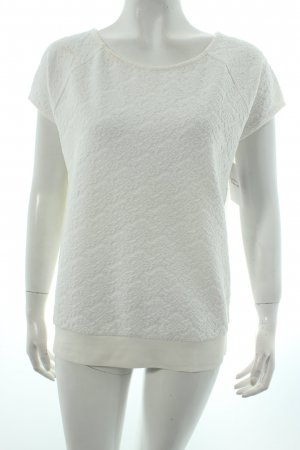Object Shirt wollweiß Romantik-Look