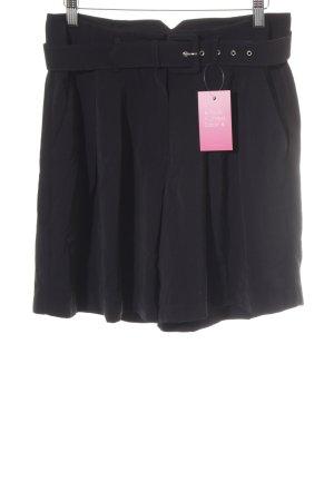 Object Shorts negro look vintage