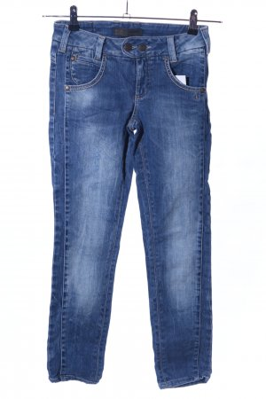 Object Slim Jeans blau Casual-Look