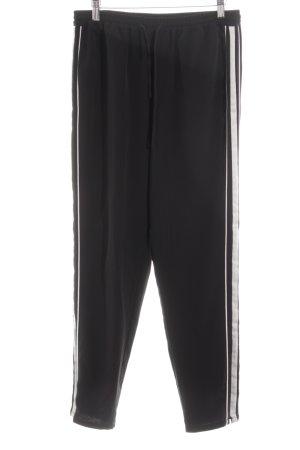Object Sporthose schwarz-weiß sportlicher Stil
