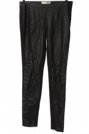 Object Pantalón tipo suéter negro look casual