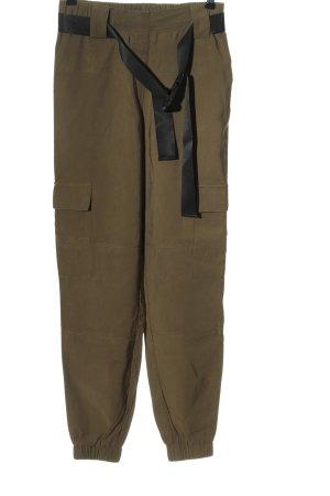 Object Pantalon en jersey kaki style décontracté
