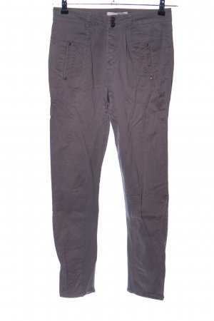 Object Stoffhose hellgrau Casual-Look