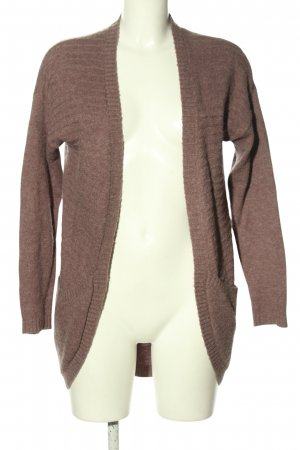 Object Strick Cardigan braun Casual-Look