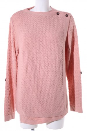 Object Strick Cardigan pink Casual-Look
