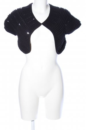 Object Knitted Bolero black elegant