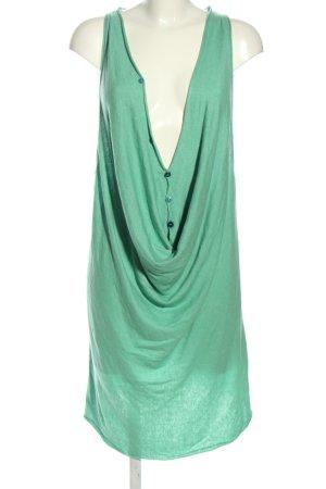Object Strickkleid grün Casual-Look