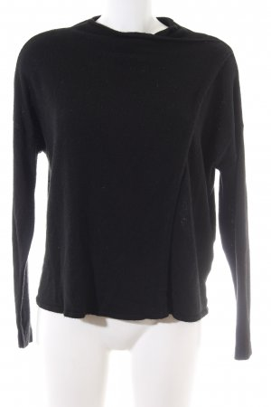 Object Strickpullover schwarz Casual-Look