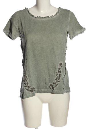 Object Camisa tejida caqui look casual