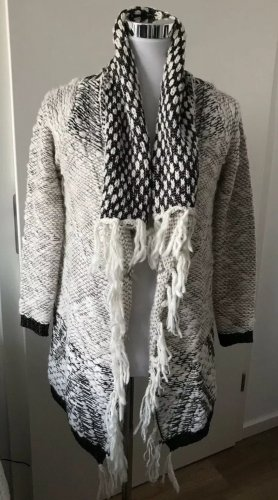 OBJECT Wolle Metallic Strickmantel Strick Knit Luxus BLOGGER Gr.S