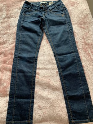 Object Wortel jeans donkerblauw