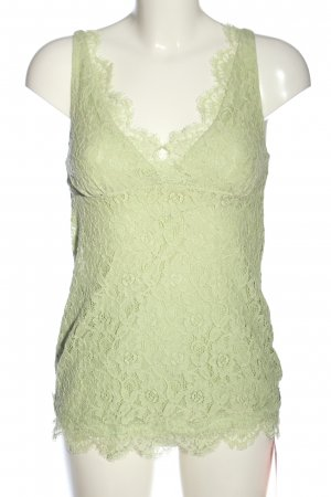 Objets de desir Lace Top green casual look