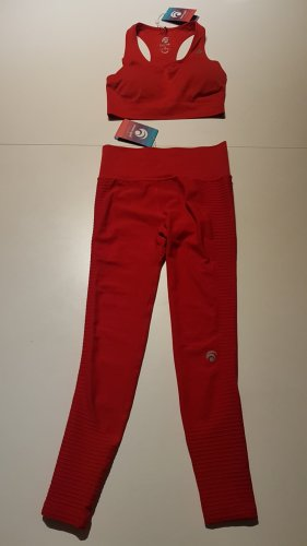 Pantalone da ginnastica rosso
