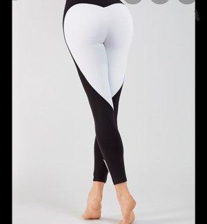 oceans apart pantalonera blanco-negro