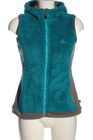OCK Hooded Vest blue-brown casual look