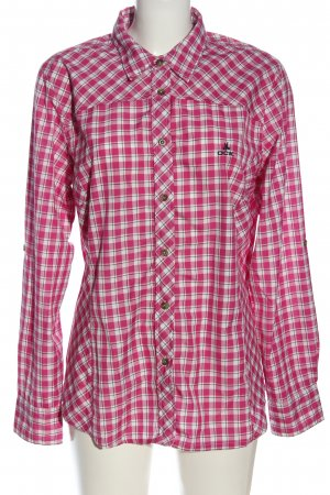 OCK Long Sleeve Shirt pink-white allover print casual look