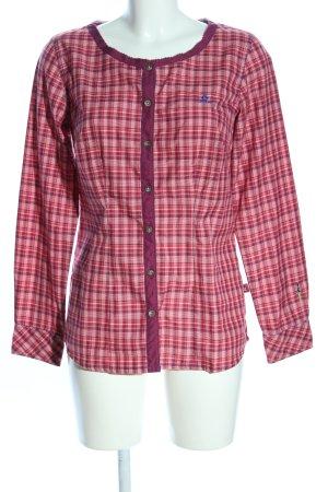 OCK Langarmhemd pink-lila Allover-Druck Casual-Look