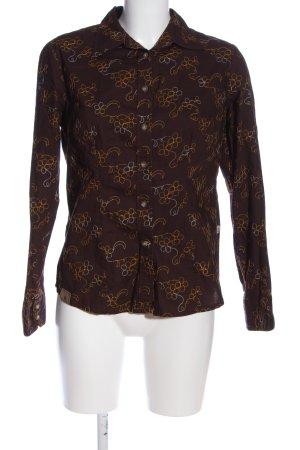 OCK Outdoor Casual Khaki Camicia a maniche lunghe stampa integrale stile casual