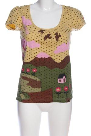 OCK Outdoor Casual Khaki Camicia fantasia stampa integrale stile casual