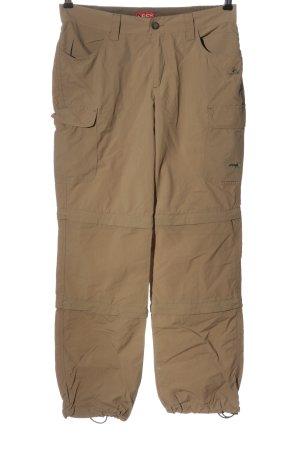 OCK Jersey Pants brown casual look