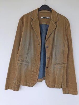 Ambiente Short Blazer sand brown-light brown cotton