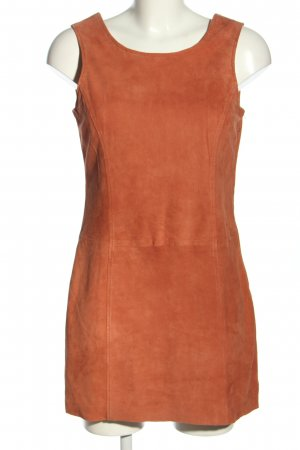 Octopus Leather Dress brown casual look