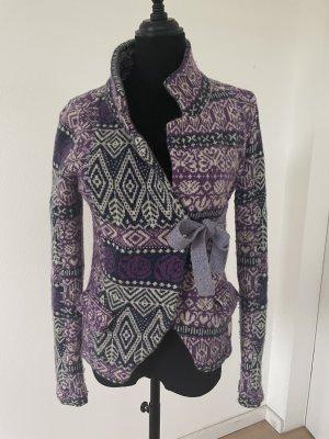 Odd Molly Blazer in maglia multicolore