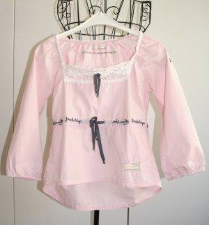 Odd Molly Blusa a tunica rosa chiaro-bianco Cotone