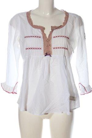 Odd Molly Camicia blusa bianco elegante