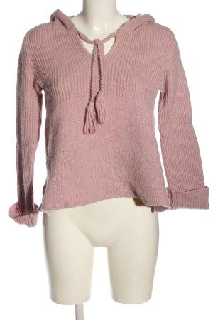 Odd Molly Maglione con cappuccio rosa stile casual