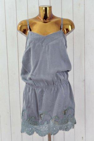 """ODD MOLLY Kleid """" Full Moon Dress """" Grau Seide Spitze Gr. 36"""