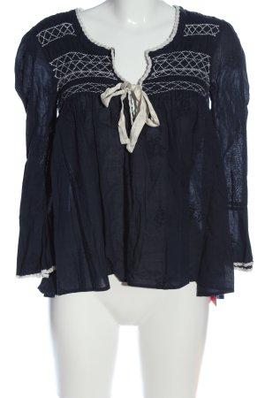 Odd Molly Langarm-Bluse blau Casual-Look