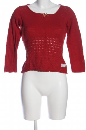 Odd Molly Strickpullover rot Casual-Look