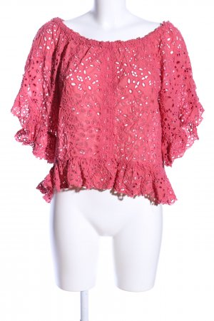 Odd Molly Schlupf-Bluse pink abstraktes Muster Casual-Look