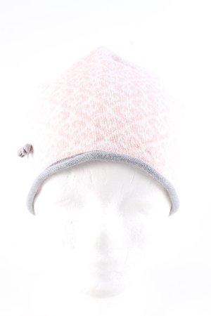 Odd Molly Stoffmütze pink-weiß Allover-Druck Casual-Look