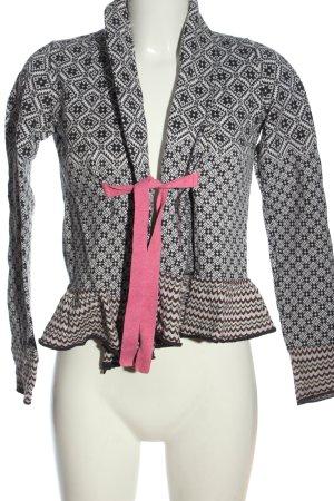 Odd Molly Cardigan in maglia stampa integrale stile casual