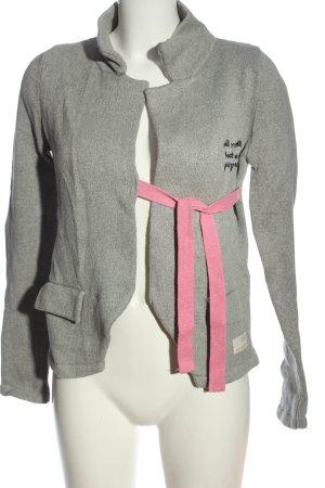 Odd Molly Cardigan in maglia grigio chiaro stile casual