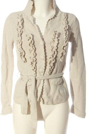 Odd Molly Cardigan in maglia bianco sporco stile casual