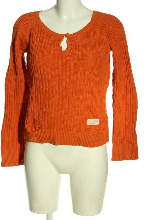 Odd Molly Maglione lavorato a maglia arancione chiaro stile casual
