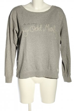Odd Molly Sweatshirt hellgrau meliert Casual-Look