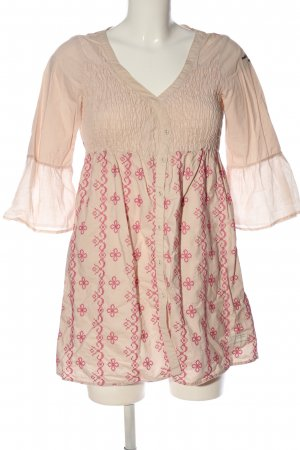 Odd Molly Tunikabluse creme-pink Casual-Look